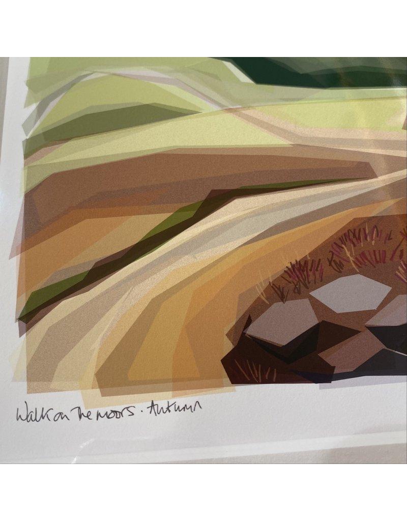 Jill Ray Jill Ray 'Autumn Moors' Mounted Print