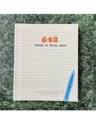 Chronicle Books 642 Things To Write About