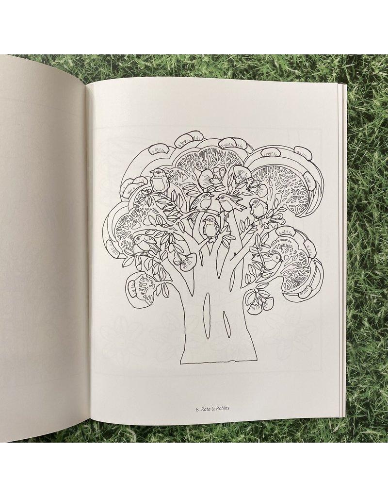 Pomegranate Colouring Book A Perfect World