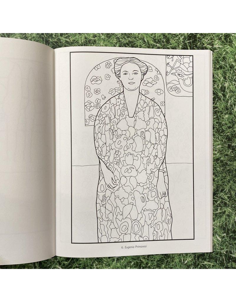 Pomegranate Colouring Book Gustav Klimt