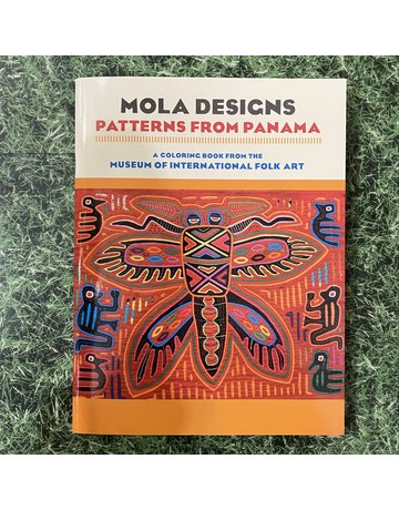 Pomegranate Colouring Book Mola Designs