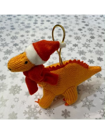 Best Years Mini Christmas Knitted Diplodocus