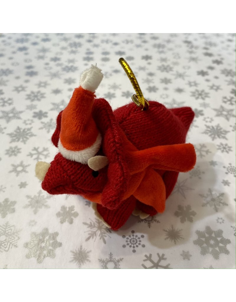 Best Years Mini Christmas Knitted Triceratops