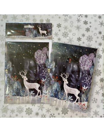 Roger La Borde Silver Stag Advent Card