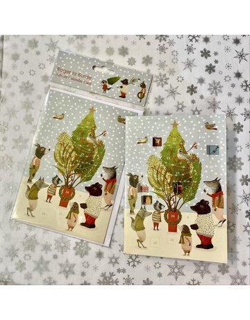 Roger La Borde Christmas Procession Advent Card