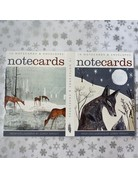 Art Angels Fox And Deer Notecard Set