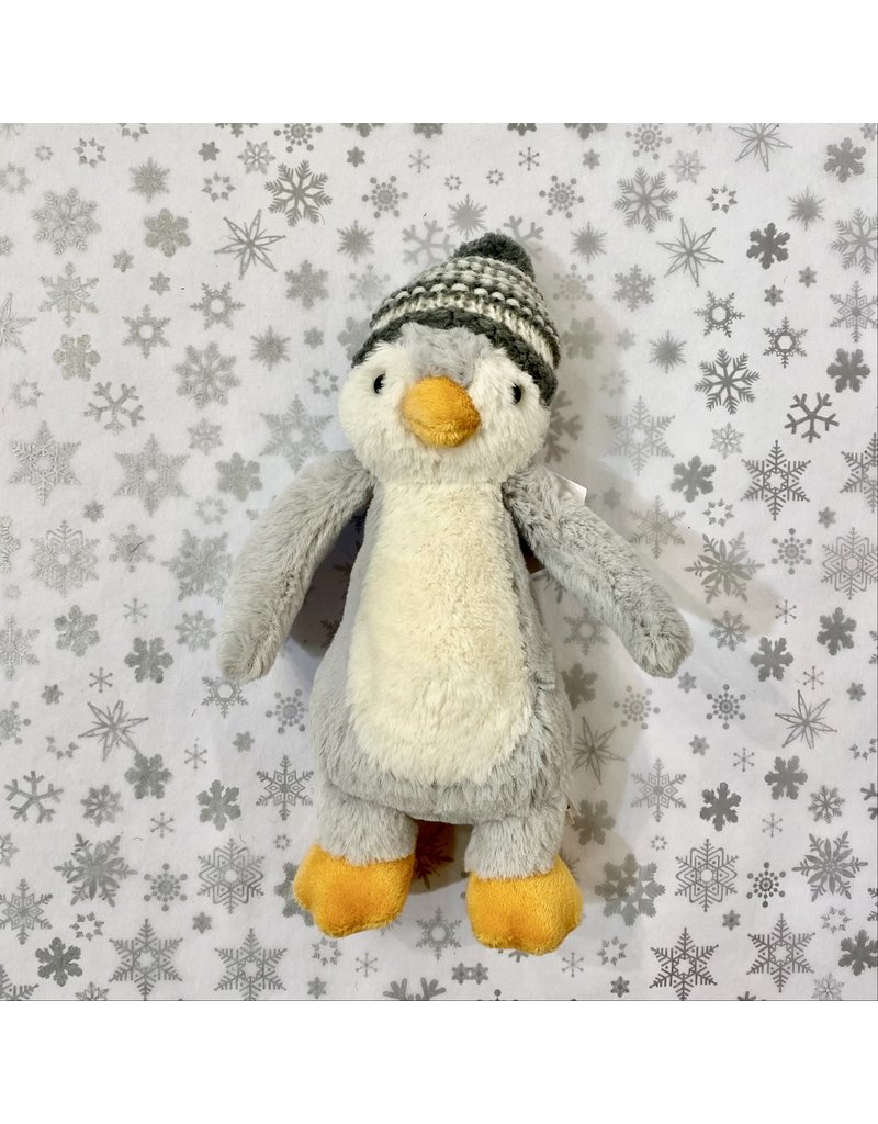Jellycat Penguin With Bobble Hat