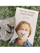 Herdy Herdy Grey Face Mask