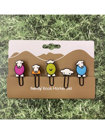 Herdy Herdy Set of 5 Bookmarks