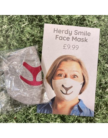 Herdy Herdy Pink Face Mask