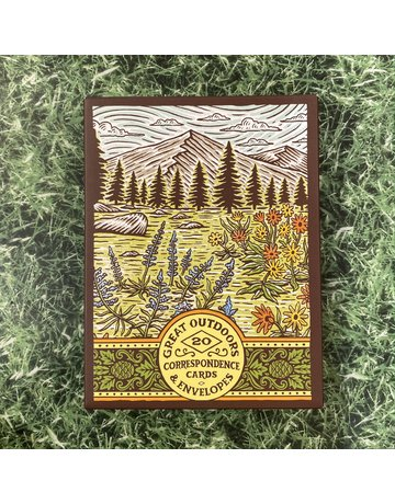 Chronicle Books Great Outdoors Notecards