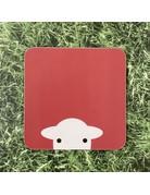 Herdy Herdy Peep Melamine Coaster