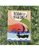 Abrams and Chronicle Card Today Is Your Day