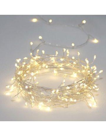 LightStyle Cluster Silver LED String Lights