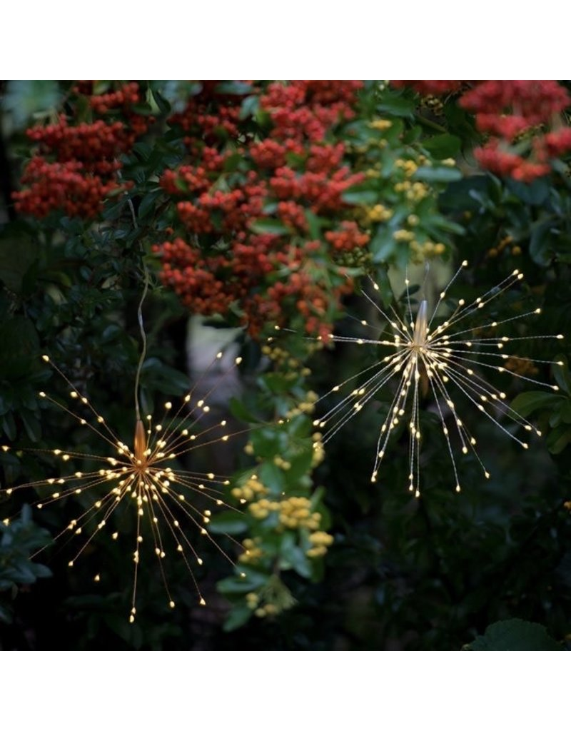 LightStyle Hanging Starburst Silver 200 LED