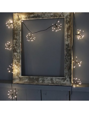 LightStyle Starburst Black LED Light Chain
