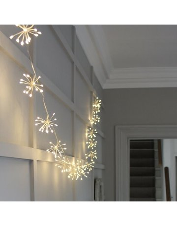 LightStyle Starburst Silver LED Light Chain