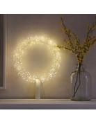 Lightstyle Starburst Silver Wreath Small