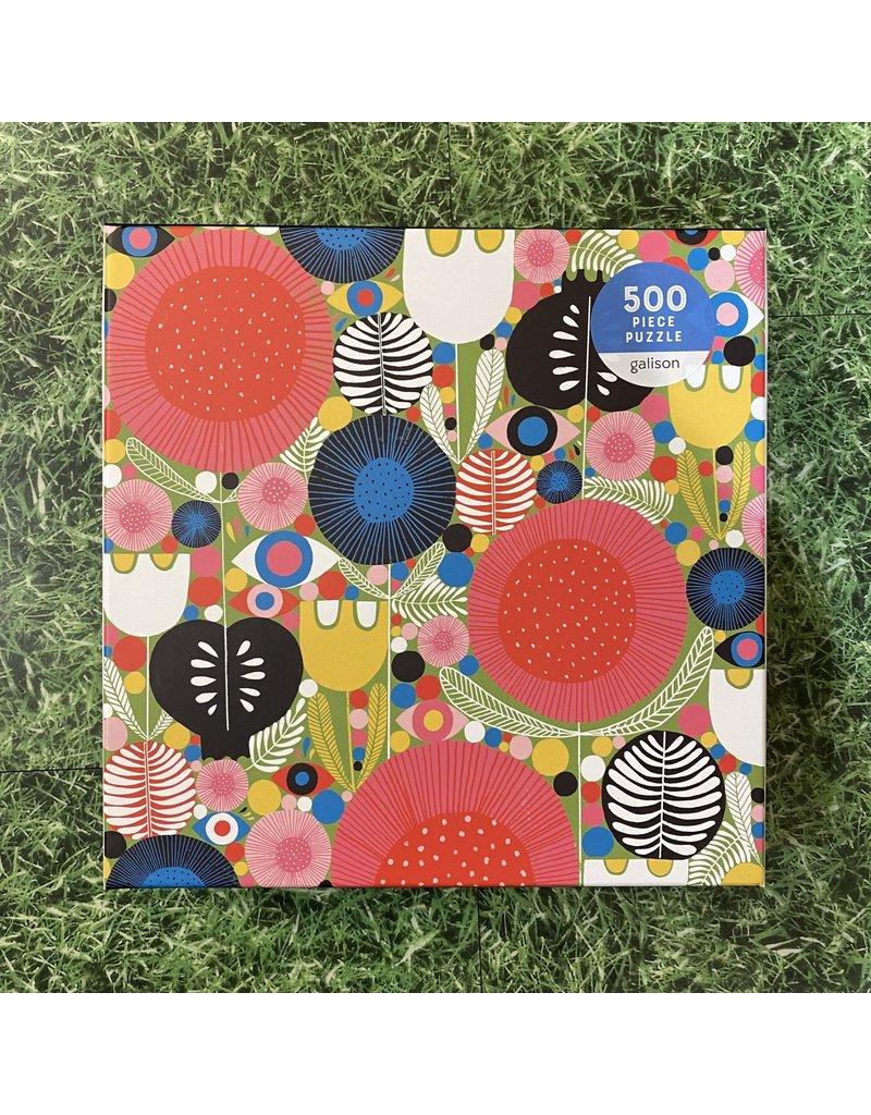 Galison 500 Piece Eyes In The Garden Puzzle