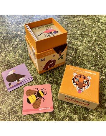 Pomegranate Memory Game Charley Harper's Animals