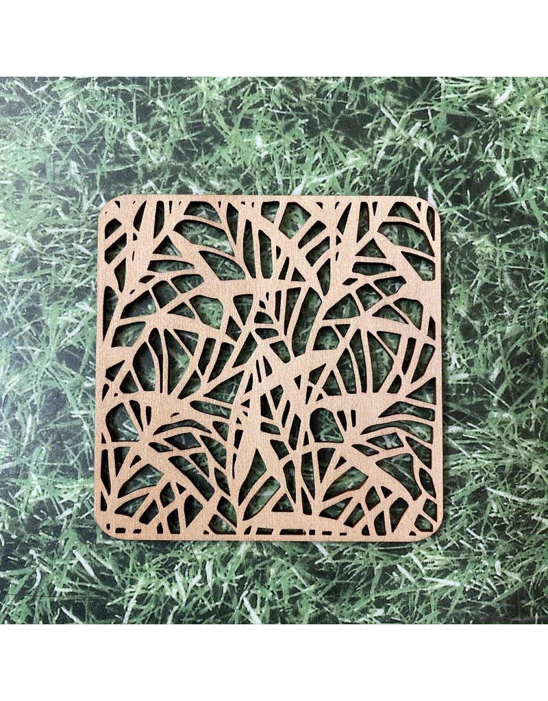 Natural Gift Store Wooden Coaster