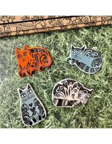 Lush Designs Magnet Set Cats