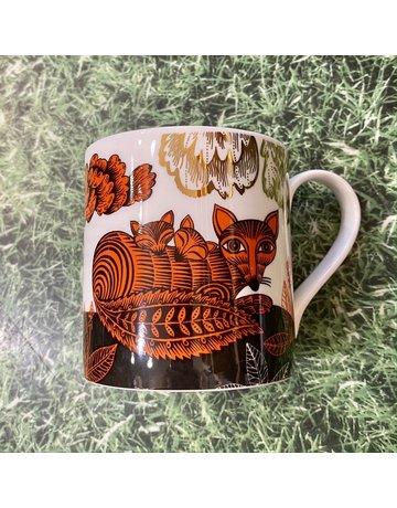 Lush Designs Mug Fox And Cubs