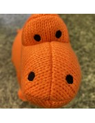 Best Years Knitted Diplodocus Large Orange