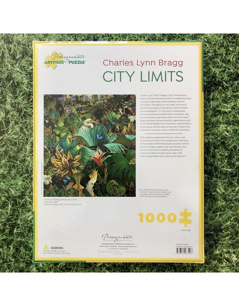 Pomegranate 1000 Piece Puzzle City Limits