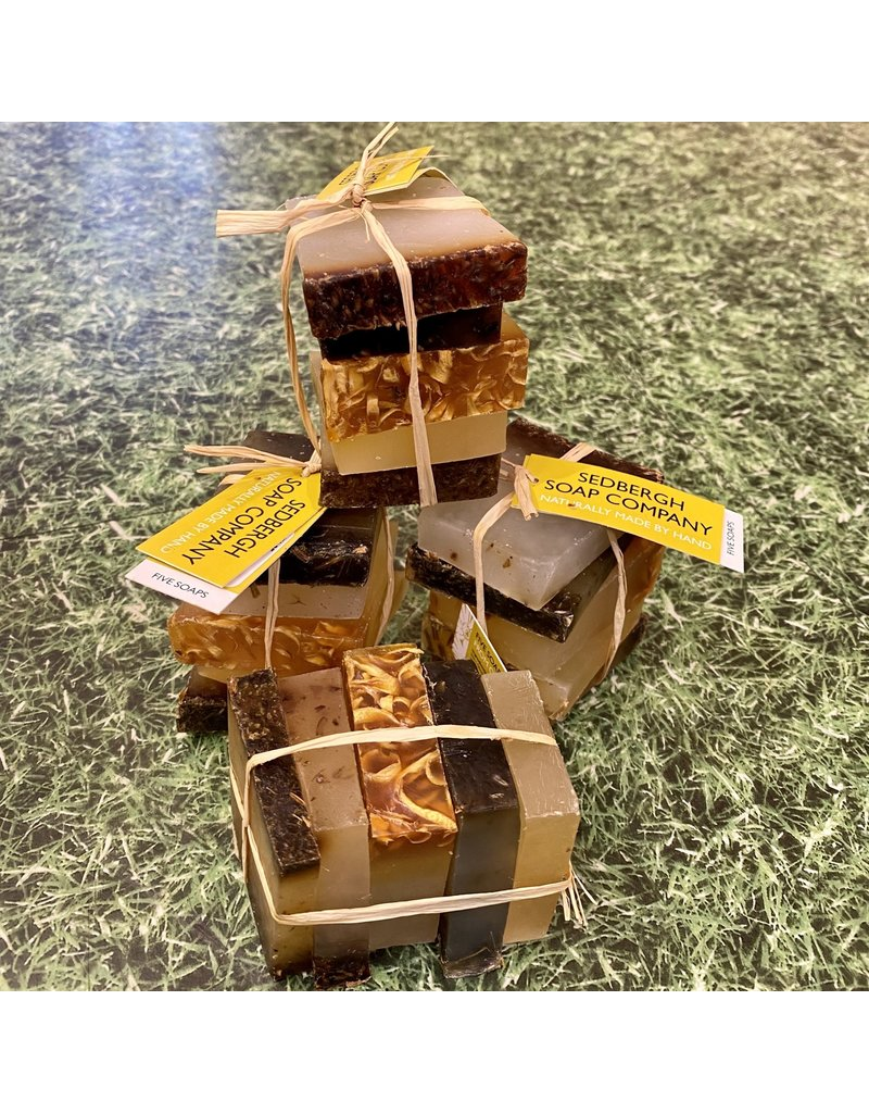 Sedbergh Soap Co Stack Of 5 Assorted Soaps