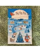 Herdy Herdy Christmas Tea Towel