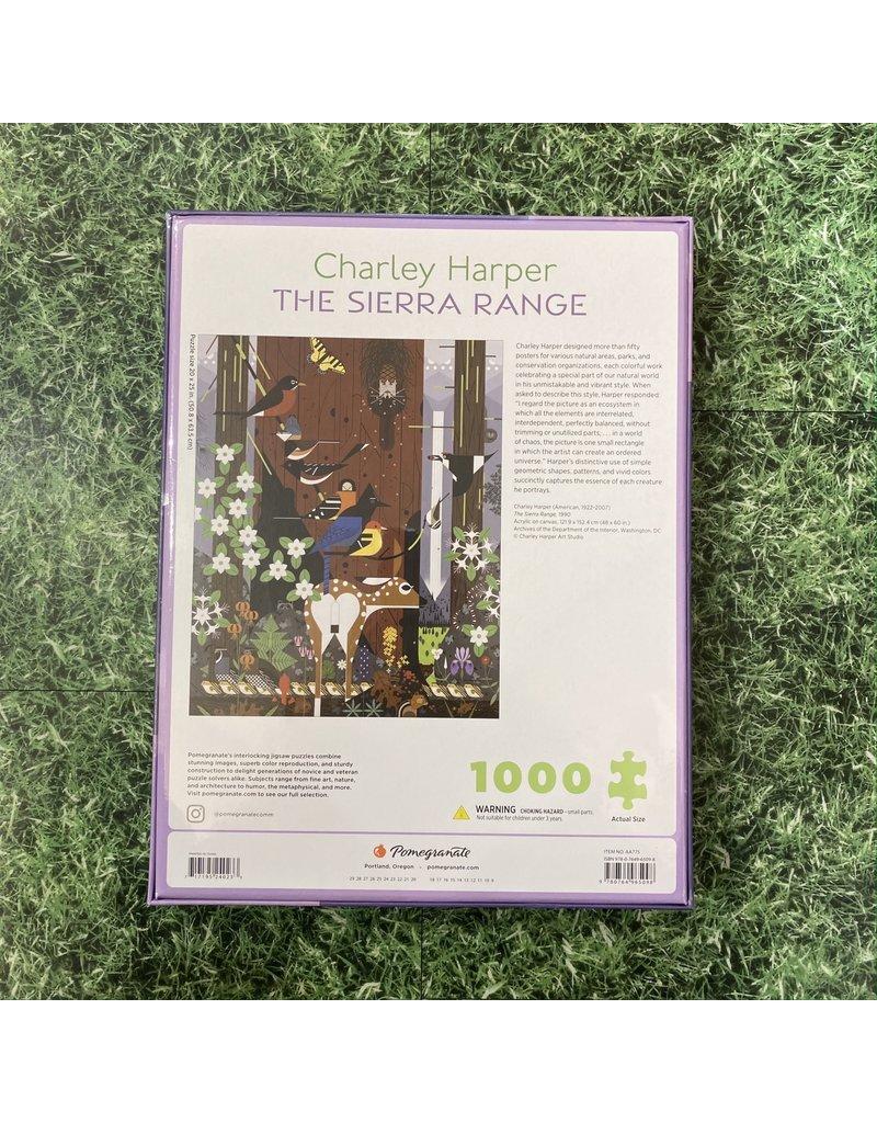Pomegranate Charley Harper The Sierra Range 1000 Piece Puzzle