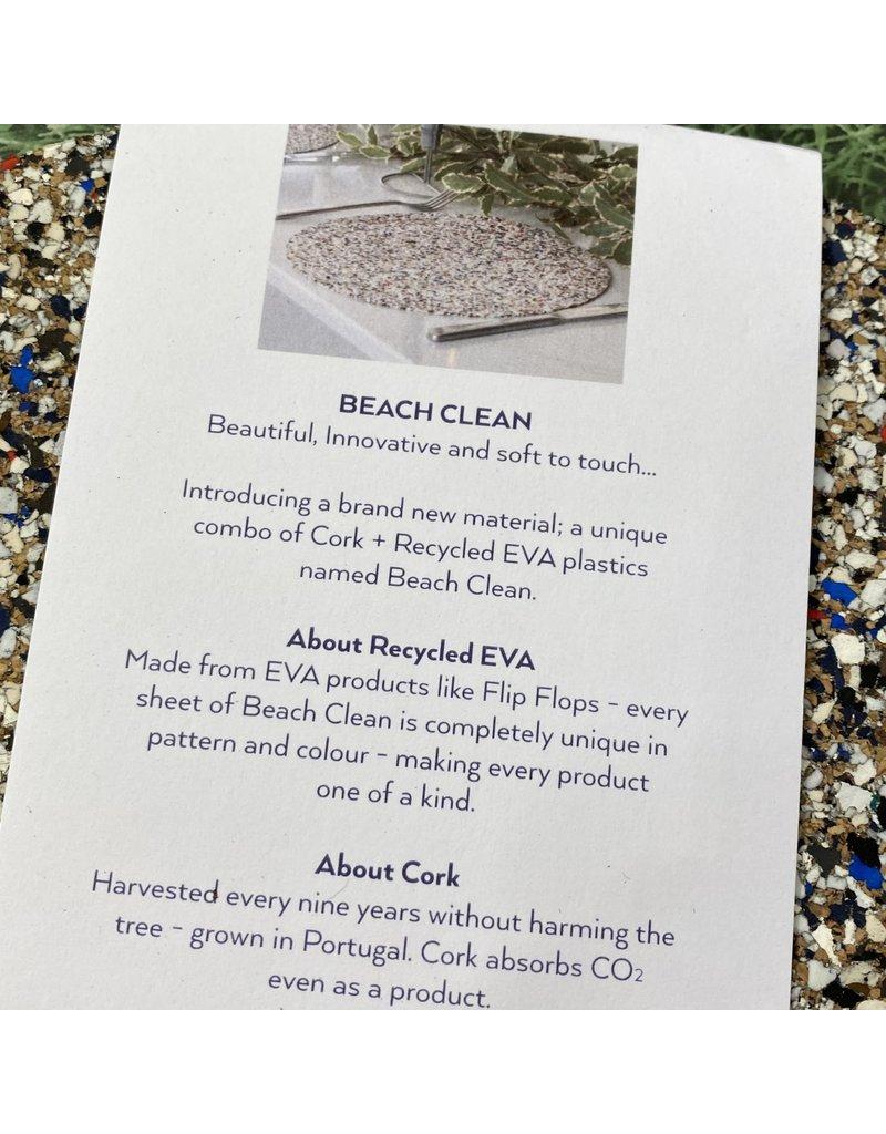 Liga Beach Clean Round Placemat Set