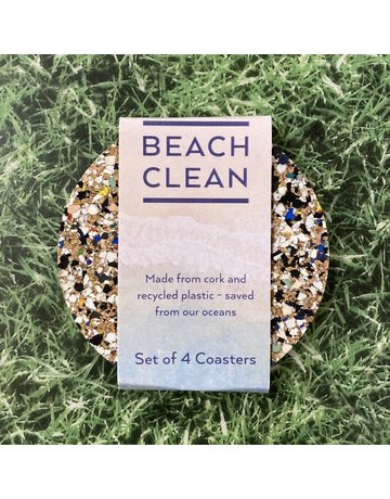 Liga Beach Clean Round Coaster Set