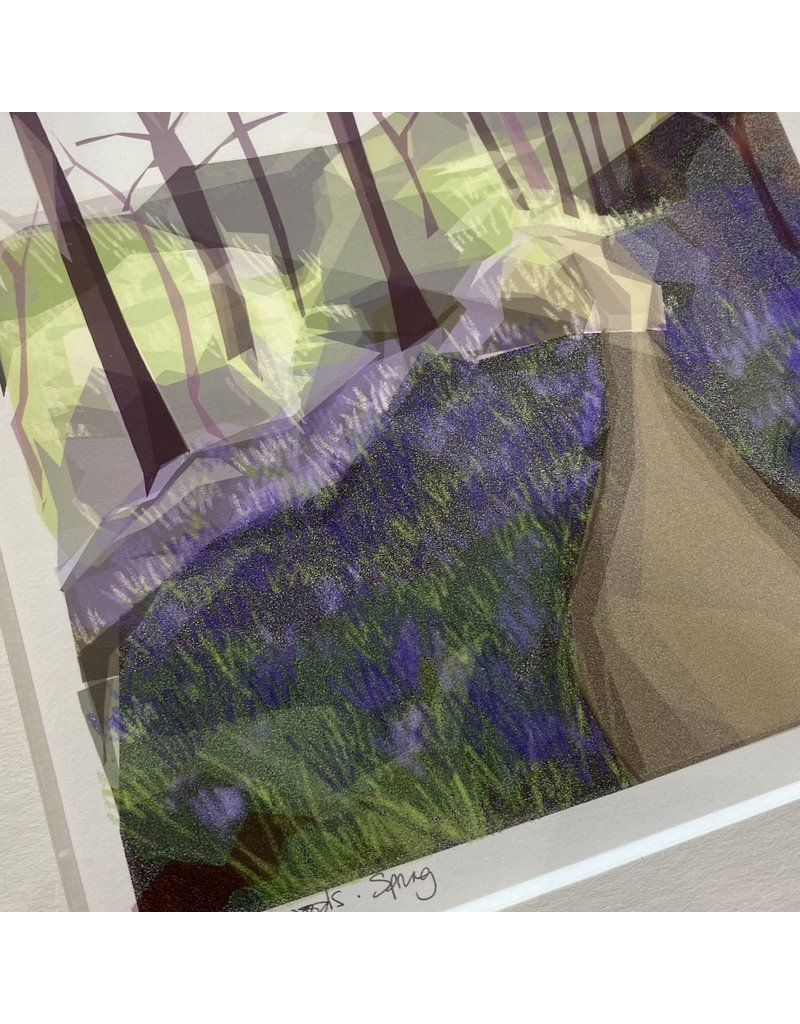 Jill Ray Jill Ray 'Spring' Mounted Print