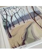 Jill Ray Jill Ray 'Winter' Mounted Print