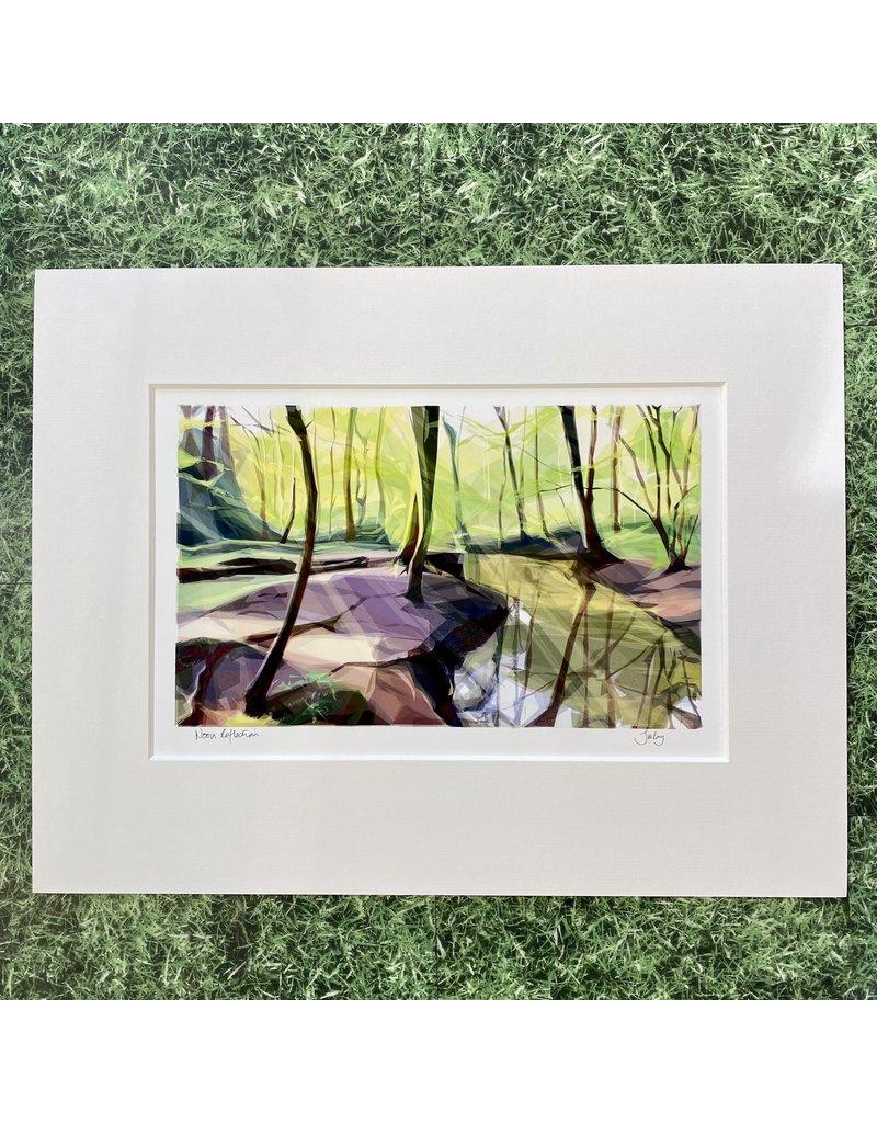 Jill Ray Jill Ray 'Noon Reflection' Mounted Print