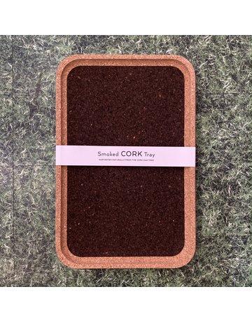 Liga Smoked Cork Tray