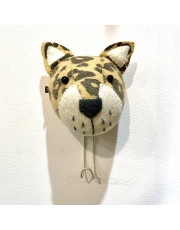 Fiona Walker Wall Hook Felt Leopard