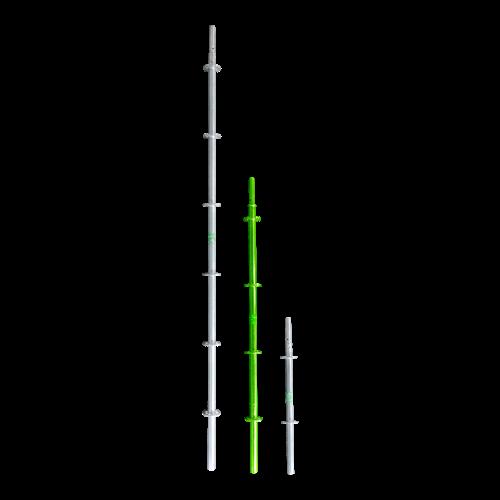 RMS Staander met pen 2,00 m