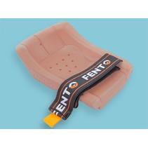 Set elastieken met klittenband voor Fento kniebeschermer 150