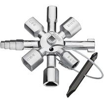 KNIPEX TwinKey voor alle standaard schakelkasten en afsluitsystemen