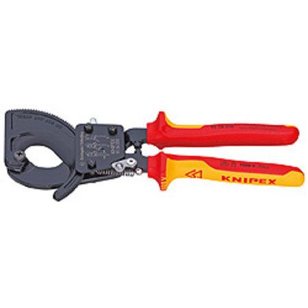 Knipex Kabelscharen ratelprincipe 250mm