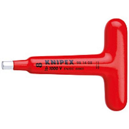 Knipex Schroevendraaiers voor binnenzeskantschroeven met T-greep 6mm