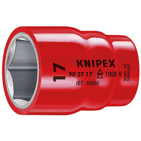 """Knipex Doppen voor ratel voor zeskantmoeren en bouten met binnenvierkant 3/8"""" 10mm"""
