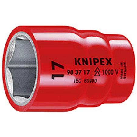 """Knipex Doppen voor ratel voor zeskantmoeren en bouten met binnenvierkant 3/8"""" 13mm"""