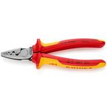 Knipex Krimptang voor adereindhulzen