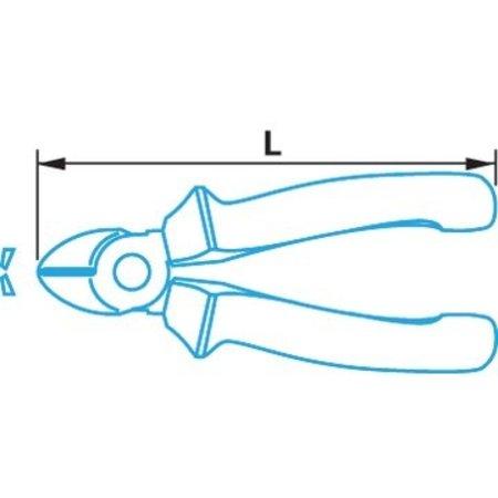 Berner Zijkniptang 1000V 3K 160 mm