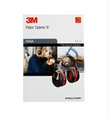 3M 3M™ PELTOR™ Optime™ III Gehoorkap met hoofdbeugel