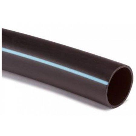 Kiwa  PE100 Kiwa SDR11 50x4.6mm 16bar R=50 zwart/blauw (50 mtr)